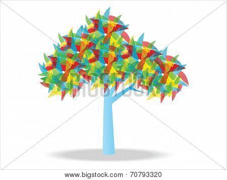 Wind Wheel Tree