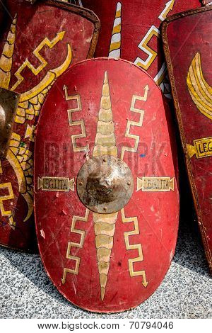 Roman Warrior Shields