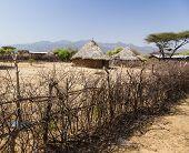 foto of ethiopia  - Traditional tsemay houses - JPG