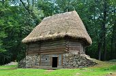 picture of sibiu  - sibiu romania ethnic museum wood house architecture - JPG