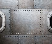 pic of ironclad  - steam punk abstract metal background - JPG
