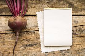 image of recipe card  - Menu background - JPG