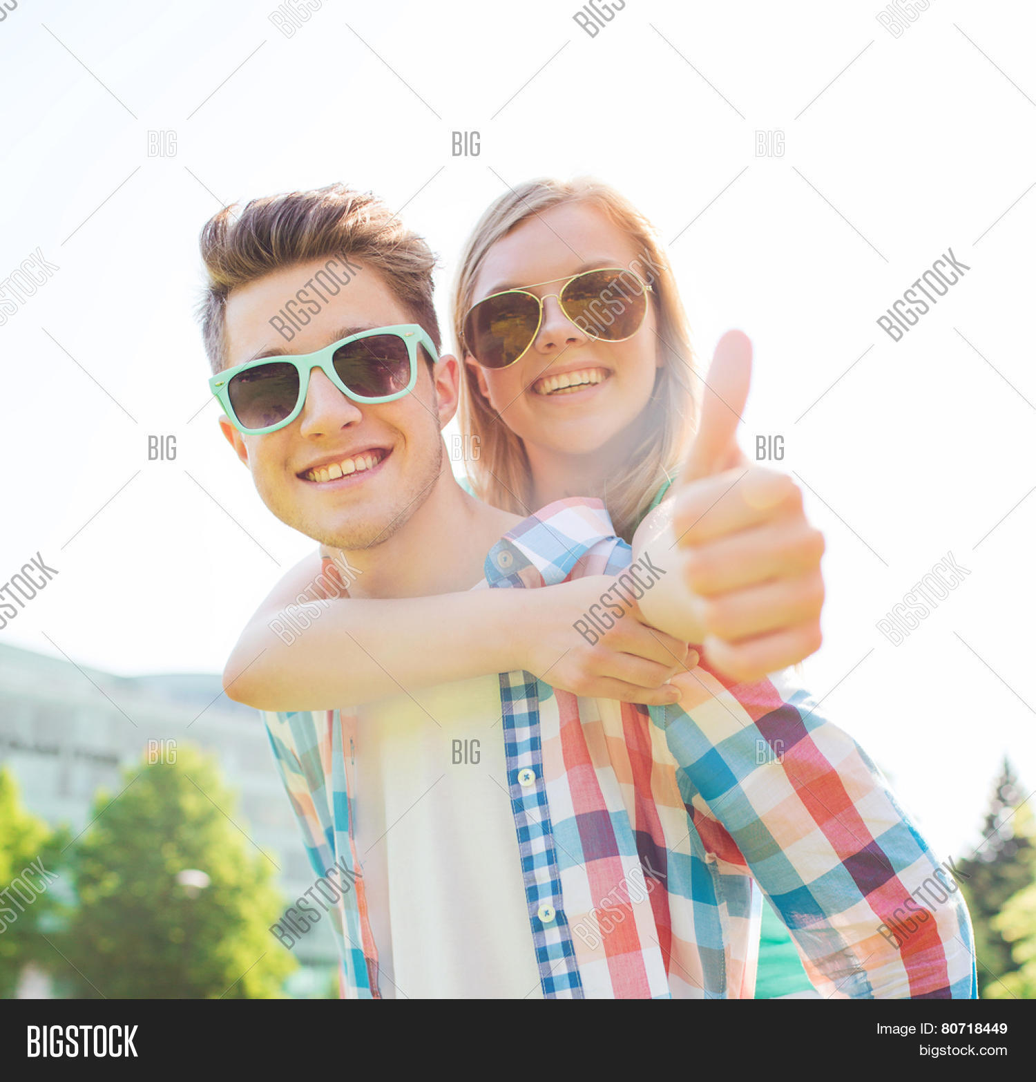 Couple Enjoying Their Summer Holidays Stock Photo: Summer Holidays, Vacation, Love, Image & Photo