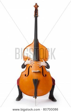 Double Bass With Hands And Feet