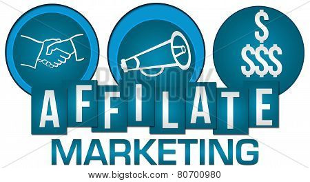 Affiliate Marketing Three Circles Stripes