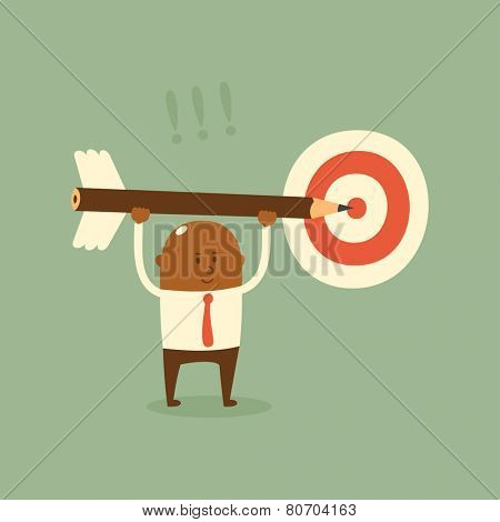 Business concept - target