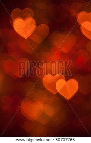 brown heart shape holiday photo background