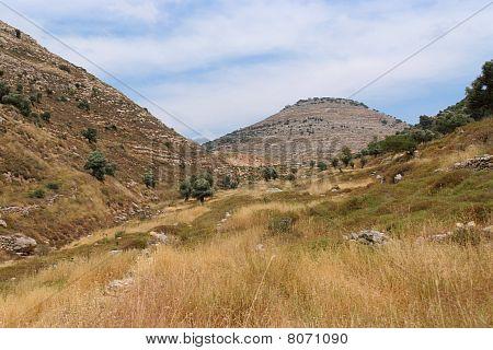 Judean mountain landscape