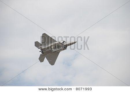 F22 Raptor with Bomb Doors Open