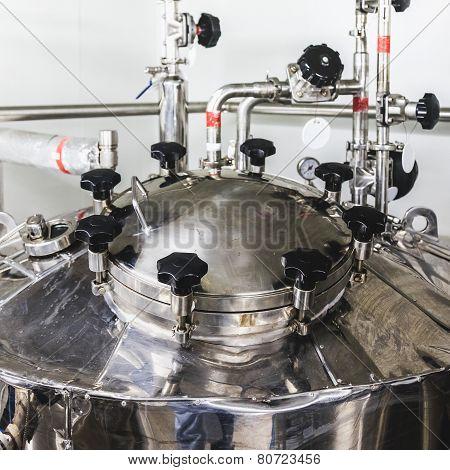 Head Of Water Boiler Or Tank