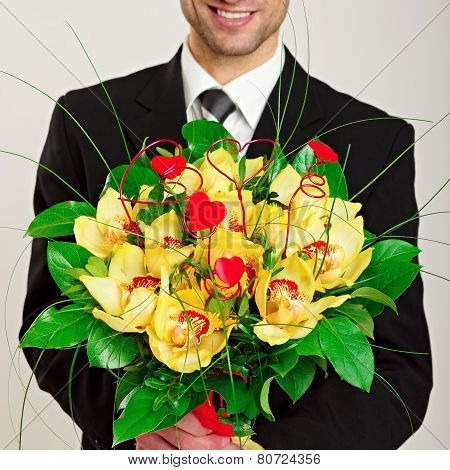 Bouquet of Orchid
