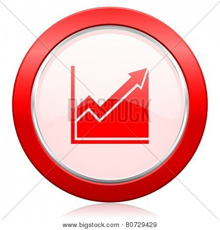histogram icon stock sign