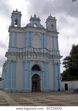 San Cristobal Mexico, church