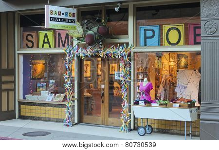 A Sam Poe Gallery Shot, Bisbee, Arizona