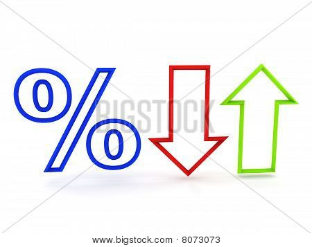 Percent (up And Fall)