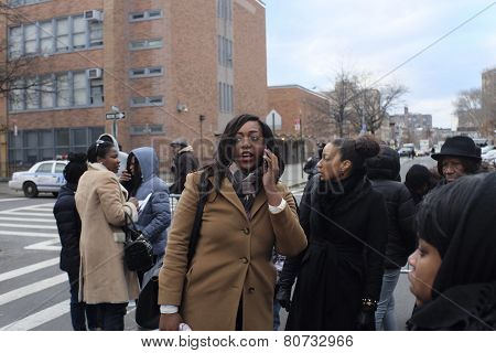Dominique Sharpton, Rev Sharpton's daughter