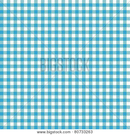 Checkered Tablecloth Pattern Light Blue - Endlessly
