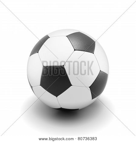 Soccer Ball Isolate On White