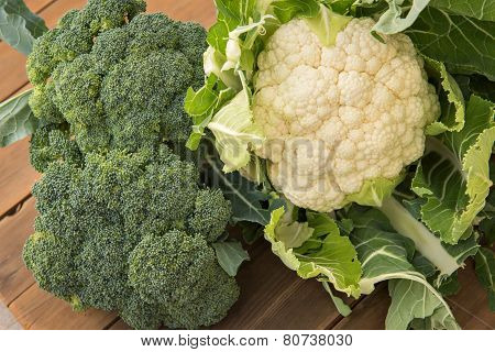 Cauliflower & Broccoli
