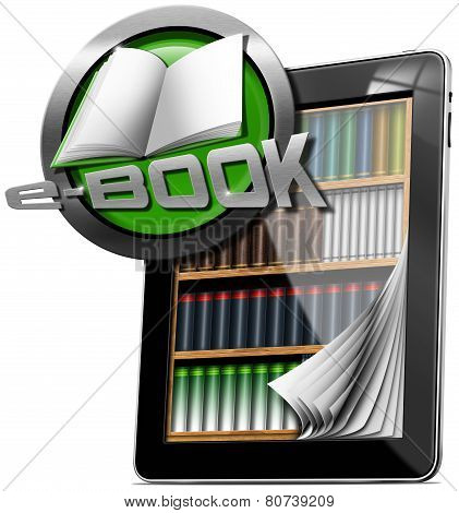 Tablet Computer - Library E-book