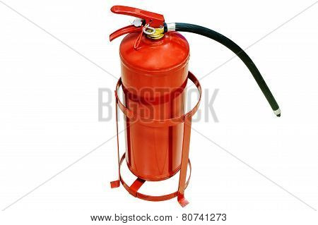 Fire extinguisher, isolated