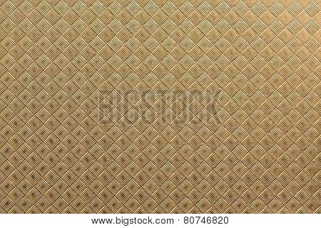 Square-textured Golden Paper