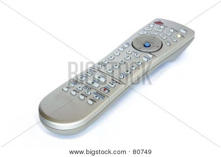 Television Remote Isolated