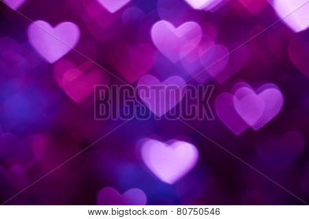 dark blue heart shape holiday photo background