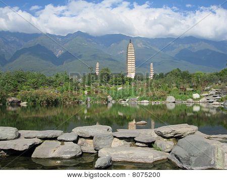 Three Pagodas, Chongsheng Temple