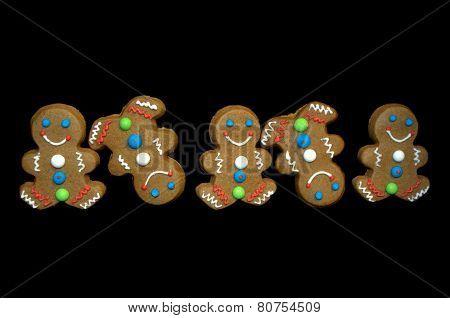 Tumbling Gingerbread Men