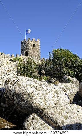 The hilltop Castle of the Moors