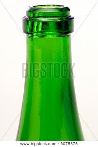 Green bottle neck