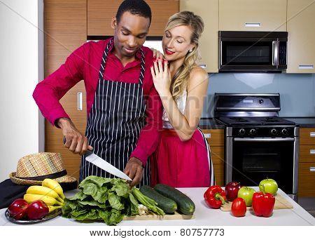 Boyfriend Cooking for Spouse
