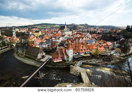 Old Town Roof View Of Czech Replublic