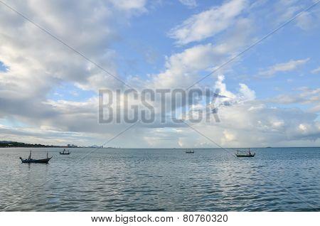 Sea At Hua Hin Thailand