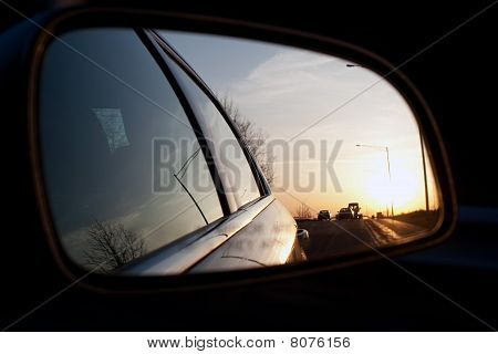 Car Travel Mirror