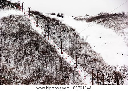 Ski Chair Lift