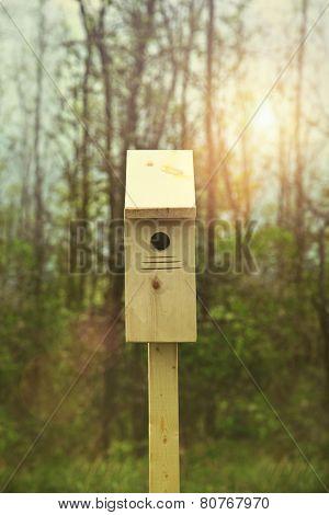 New nesting box set out for Springtime