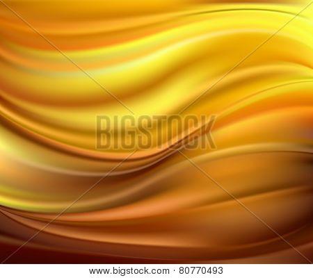 Abstract Vector Texture, Yellow Silk