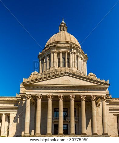 Legislative Building In Olympia Washington