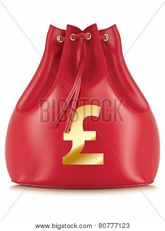 Money Bags With Currency Symbols, Isolated. Vector Illustration