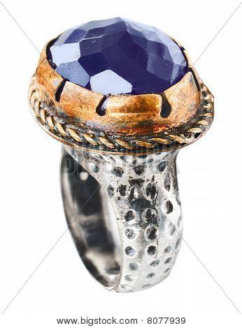 Turkish vintage style Ottoman ring