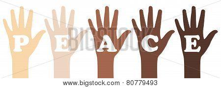 Peace Slogan
