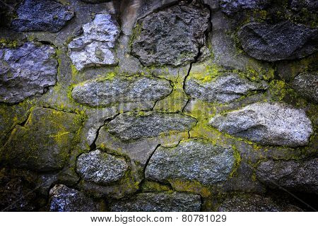 Old brickwork abstract background