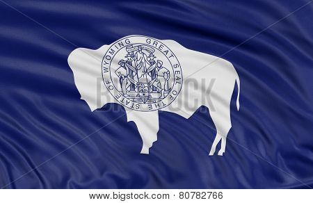 3D Wyoming  Flag