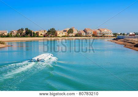 El Gouna Resort. Egypt