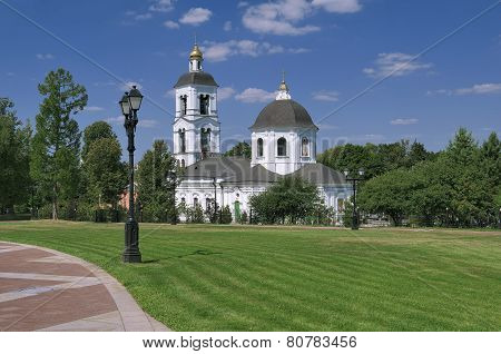 The Church of Our Mother, of Life-Giving Spring in Tsaritsyno