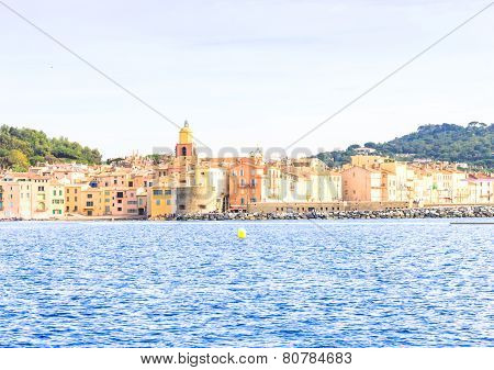 Saint Tropez Mediterranean sea, south of France