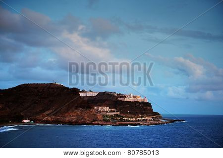 Atlantic resort in Gran Canaria, Spain, Europe