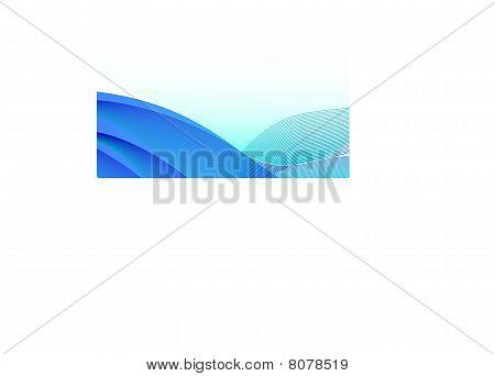 Clean blue wallpaper